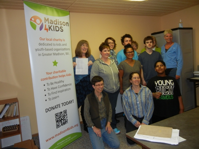 Common Threads School in McFarland is awarded with a FREE SmartBoard from Madison4Kids!