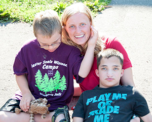Grant Funds Easter Seals Camp Wawbeek Camperships